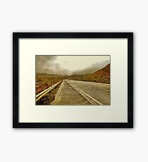 First rain of the season Framed Print