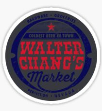 Tremors - Walter Changs Market  Sticker