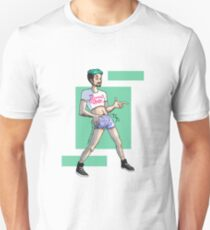 Jacksepticeye Dream Daddy Crop Top & Flamingo Shorts T-Shirt