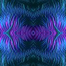 Sunrise Reflections on the Frosty Lake Fractal Abstract by Artist4God