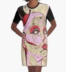 Morbid Model Graphic T-Shirt Dress