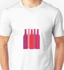 Wine vector Unisex T-Shirt