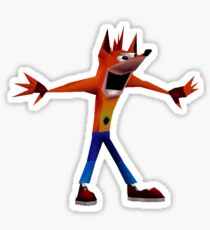 Crash Woah Sticker