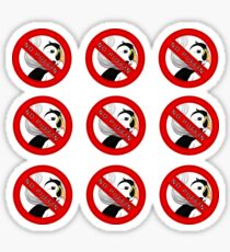 No Puffin' Set Sticker