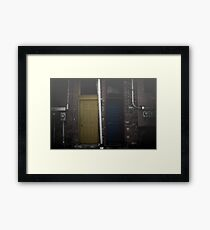 Which Path Will You Choose? Framed Print