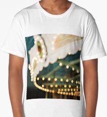 In Dreams - Vintage Bokeh Carousel Long T-Shirt