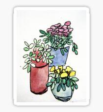 Flowers Watercolour 3 Sticker