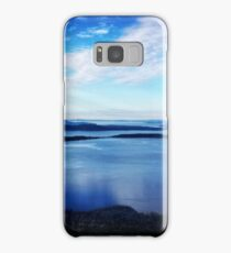 Blue Washington Samsung Galaxy Case/Skin
