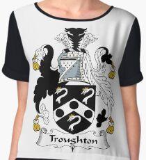 Troughton  Women's Chiffon Top