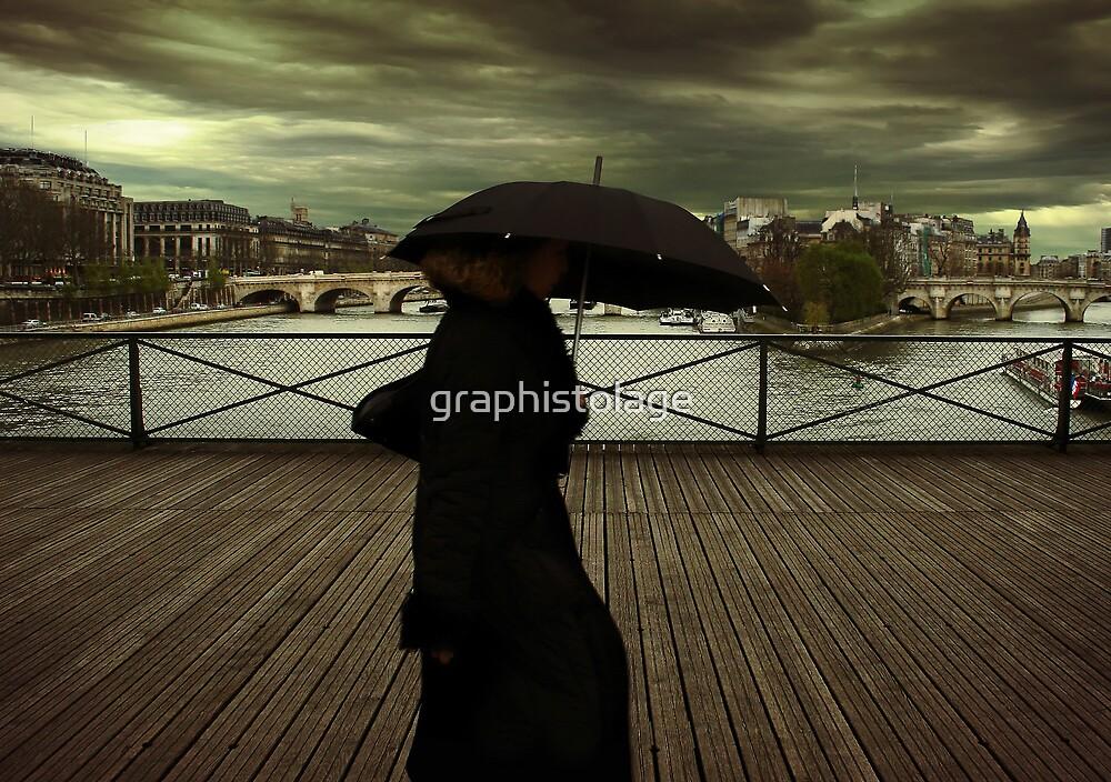 La dame en noir by graphistolage