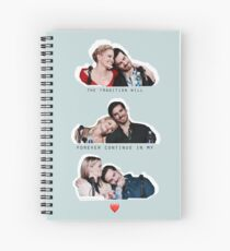 62. Colifer San Diego Comic Con tradition Spiral Notebook