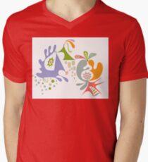 Oh My Mens V-Neck T-Shirt