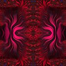 Sunset Reflections Dancing on the Ocean Fractal Abstract by Artist4God