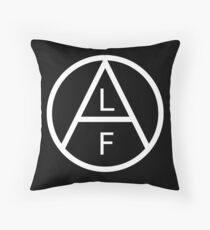 Animal Liberation Front - black Throw Pillow
