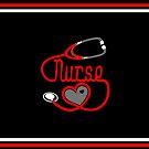 Nurse Love Heart Stethoscope by EthosWear