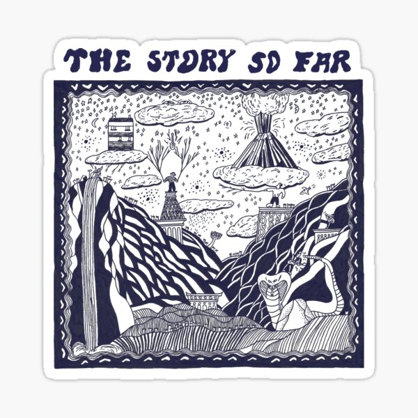 The Story So Far Transparent (Self Titled) Sticker