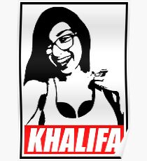 khalifa a sexy baby girl Poster