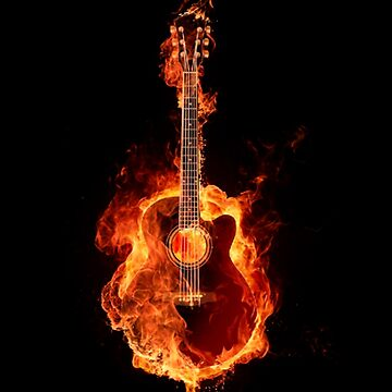 GUITAR ON FIRE by jesuspuig2013