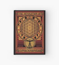 The Revolution of Consciousness   Vintage Propaganda Poster Hardcover Journal