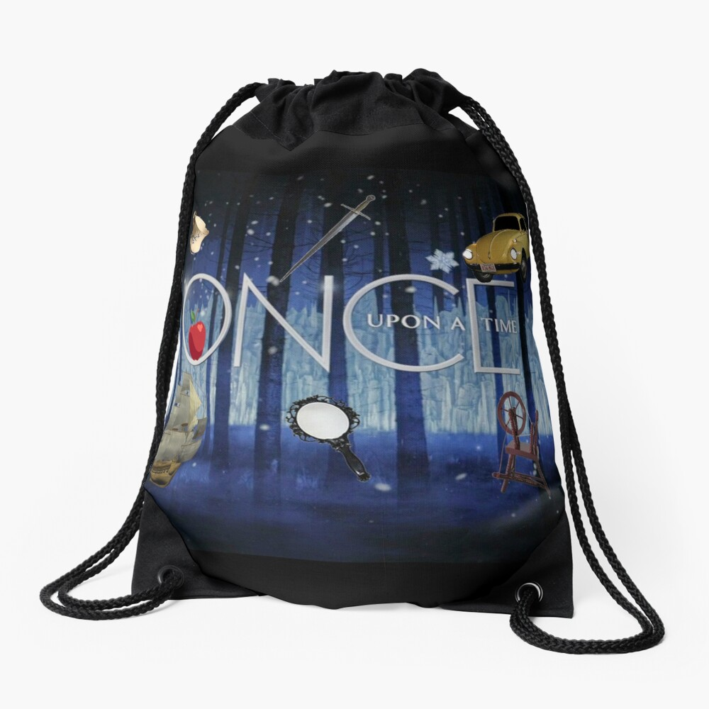 ONCE UPON A TIME new! Drawstring Bag