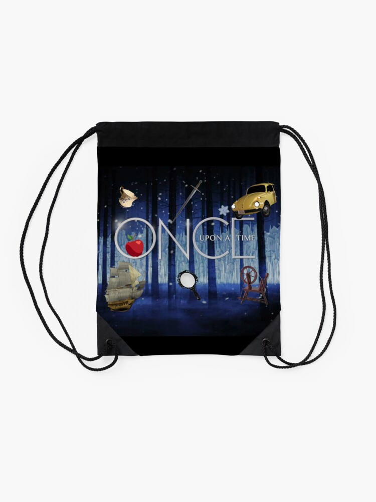 Alternate view of ONCE UPON A TIME new! Drawstring Bag