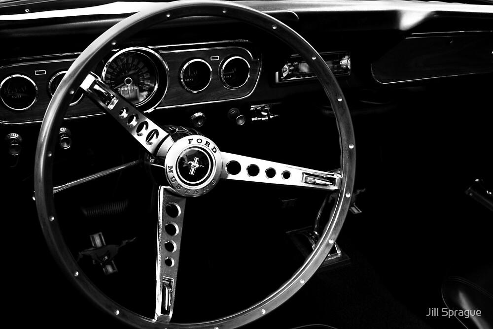 Mustang Wheel by Jill Sprague