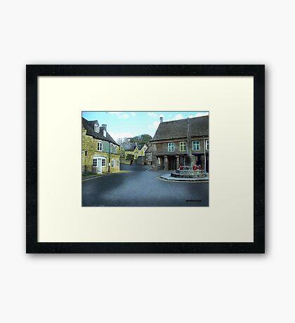 Round About in Minchinhampton Framed Print