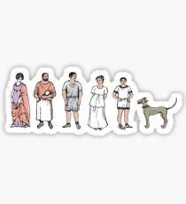 Caecilius est in Horto Sticker