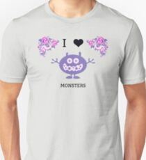 I Love Monsters Series- Two T-Shirt