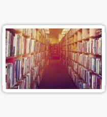 Heaven is a Local Bookstore Sticker