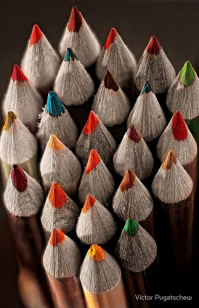 Pencil Valley. by Victor Pugatschew