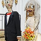 Going to the Chapel- funny wedding couple by Beth Brightman