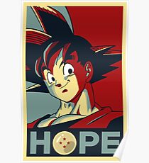 Goku Obey Poster