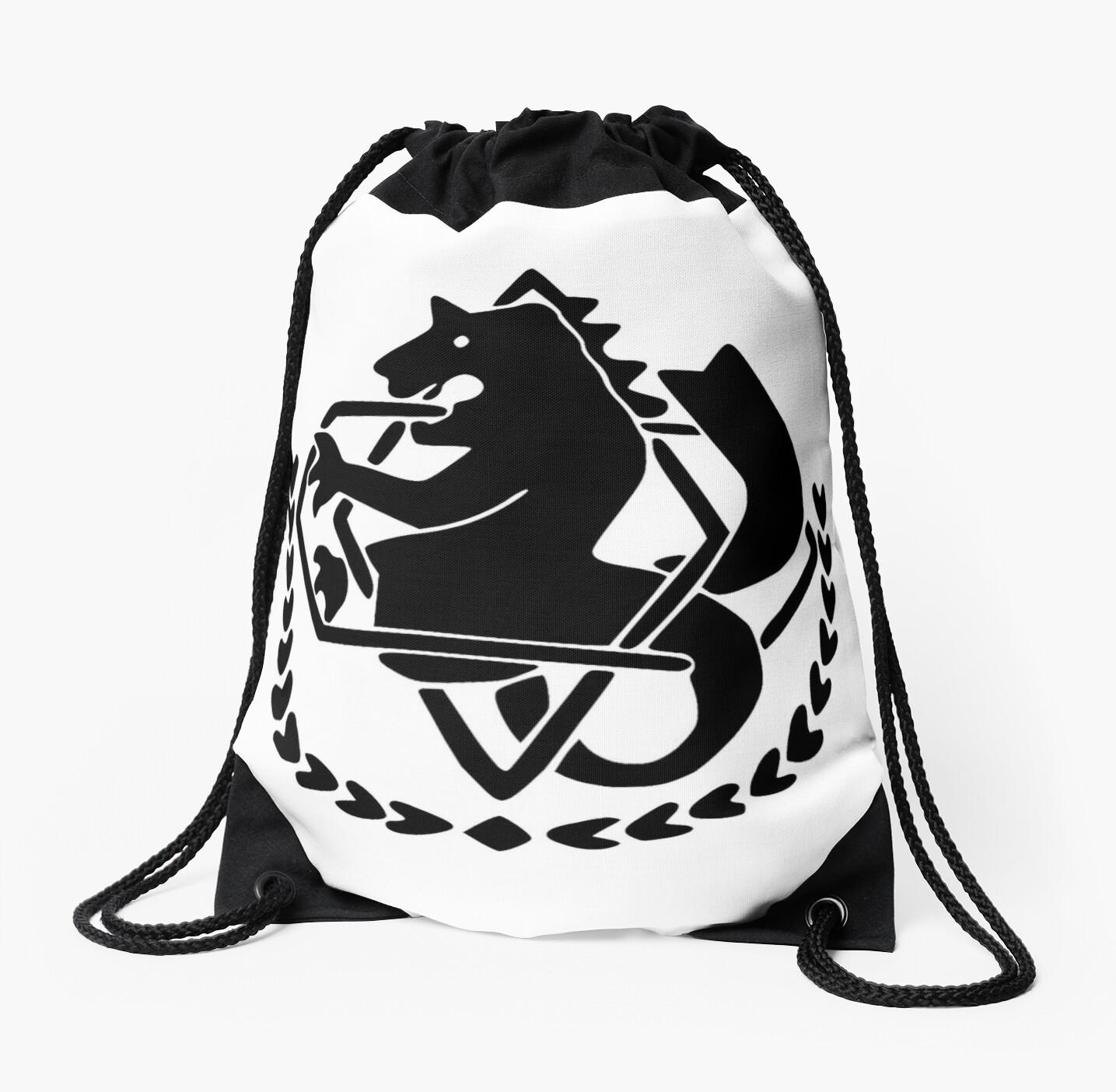 Fullmetal Alchemist Alchemist Symbol Drawstring Bags By