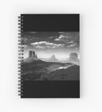 Monument Valley in Black & White  Spiral Notebook