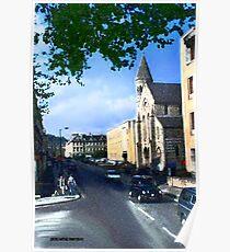 Church in Bath Poster