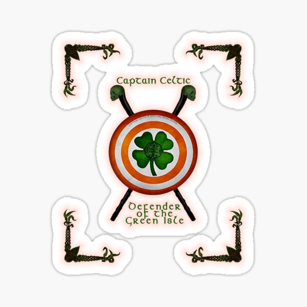 CAPTAIN CELTIC  Sticker