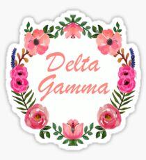 Floral Wreath Design  Sticker