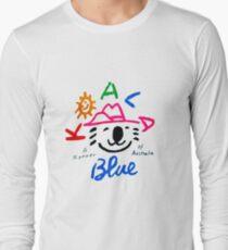 Koala Blue - Olivia Newton-John Long Sleeve T-Shirt