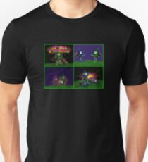 Atomic Bomberman Retro Graphic Grid T-Shirt