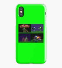 Atomic Bomberman Retro Graphic Grid iPhone Case/Skin