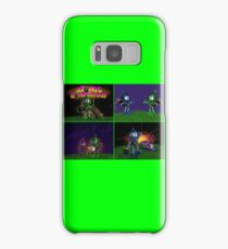 Atomic Bomberman Retro Graphic Grid Samsung Galaxy Case/Skin