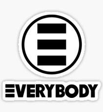 A Cool Everybody Sticker