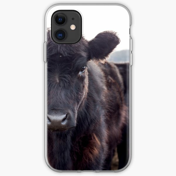 Brown Cow  iPhone Soft Case
