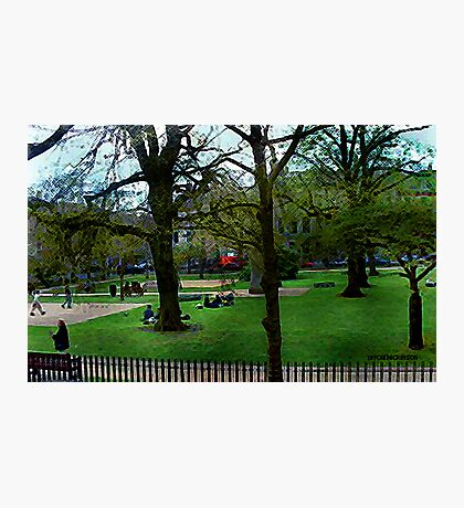 Bath City Green Photographic Print