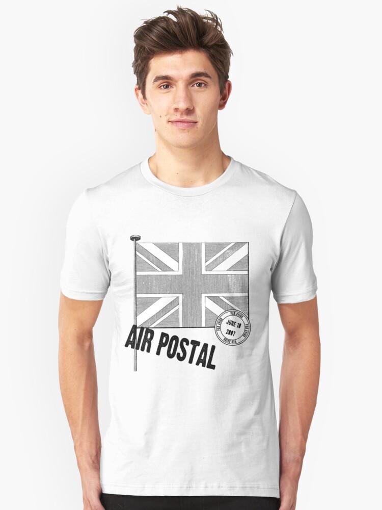 Union Jack Flag Unisex T-Shirt Front