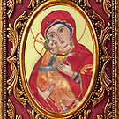 Icon of the Virgin Mary by gotomary
