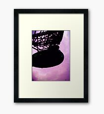 Purple Eye Framed Print
