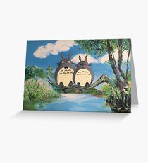 My 'Lover' Totoro Greeting Card