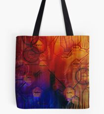 Inversal UDS Structural Sequence Number 23.475 Tote Bag